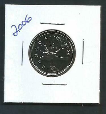Canada - 25 Cents - 2006 - BU PL from set - Combined Shipping - NO TAX