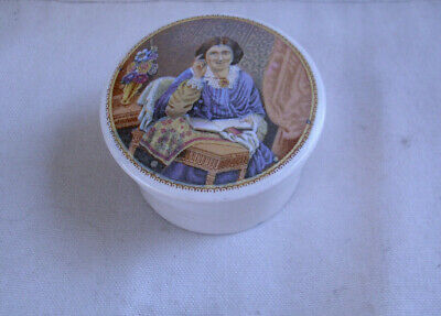 Antique multi-color,Rated as RARE by latest reference book,Prattware jar pot lid