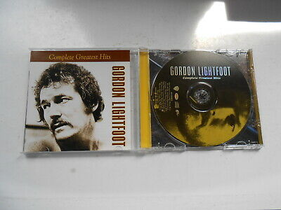 Gordon Lightfoot-Complete Greatest Hits-20 Track Cd-2002-Australia