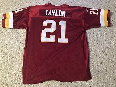 NFL Authentic Reebok Washington Redskins Sean Taylor 21 Jersey Sewn On Size  60 f13013ff5