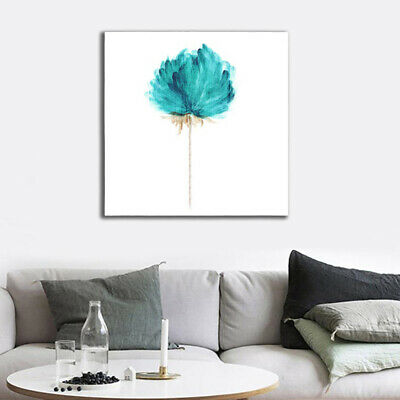 Abstract Green Flower Modern Home Decor Canvas Oil Art Wall Picture Painting