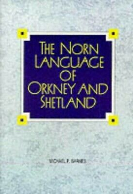 The Norn Language of Orkney and Shetland by Barnes, Michael Paperback Book The