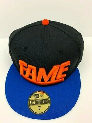 29459bc7e0d Hall Of Fame Cap 2nd Sucks Hat New Era Size 7 Unique Embroidered 3D Logo  Fitted