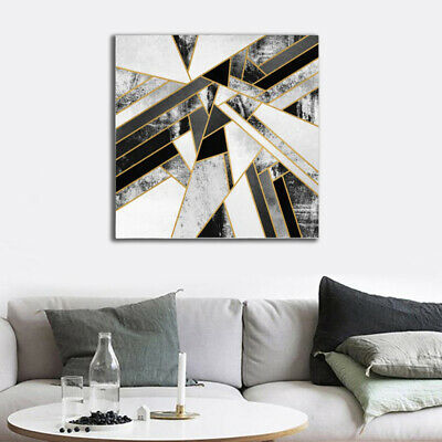 Modern Home Decor Canvas Abstract Marble Texture Oil Art Wall Picture Painting