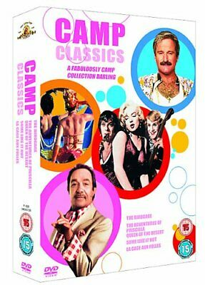 Camp Classics Collection: Some Like It Hot, Priscilla Queen Of Th... - DVD  7MVG