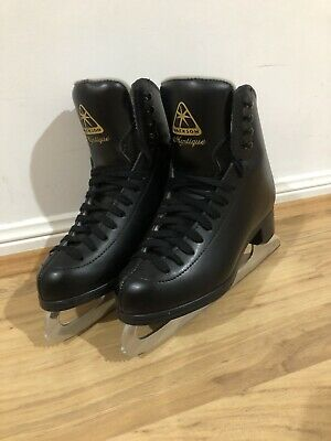 Jackson Ultima Mystique Figure Ice Skates Boy Size 2.5 BLACK