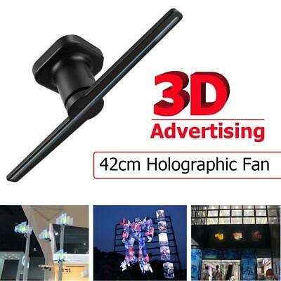 """16.54"""" LED WIFI 3D Hologram Projector Holographic 42cm Advertising Fan Displayer"""