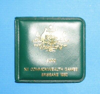 Empty Wallet For 200 Dollar Coin Nice 1982 Comonweath games