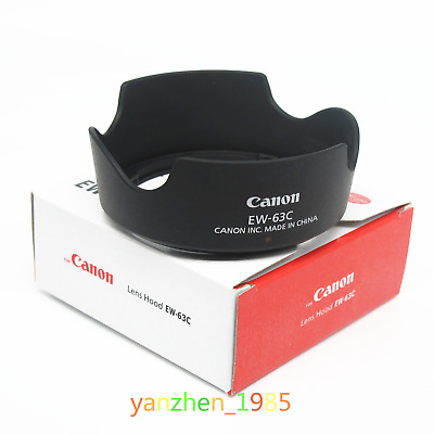 Canon EW-63C EW63C Camera Lens Hood for Canon EF-S 18-55mm f/3.5-5.6 IS STM