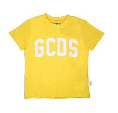 T-shirt Gcds Kids unisex yellow ss19