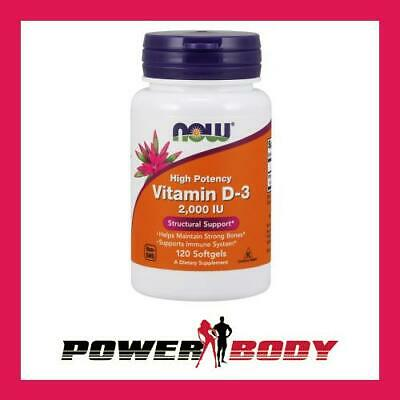 NOW Foods - Vitamin D-3