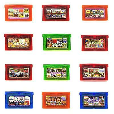 Multi cart For GBA Video Game Card Cartridge Console US English Language