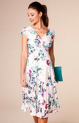 d27325daabcdb Tiffany Rose Maternity Dress - Alessandra Dress (Painterly Floral) Size UK  8-10