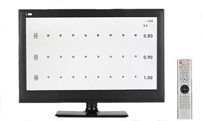 "Multi-function 18.5"" LED Display MICRO Chart Projector Eye Chart 2m-7m Optometry"