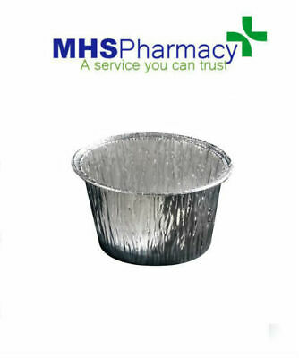 030471 - Deo Disposable Foil Cups Containers Hot Waxing Legs Arms Eyebrows Bowls