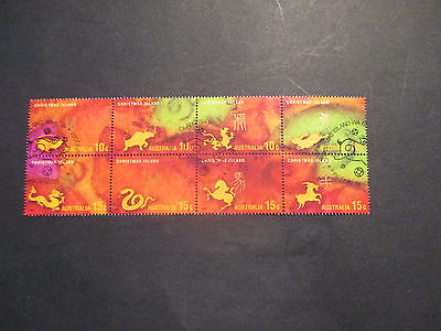 2---2007   Christmas  Island   Year  Of  Pig  16  Stamp  Issues  -Cto--  A1