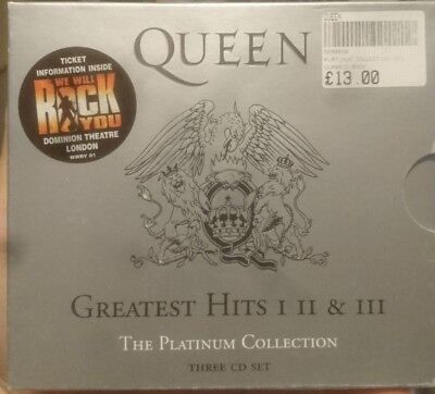 Queen ‎– Greatest Hits I II & III (The Platinum Collection) - 3 CD fatbox