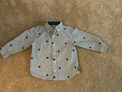 Oshkosh 3T Train Shirt Button Down Boys