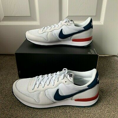 finest selection c2598 f809c NIKE INTERNATIONALIST NIKE iD - WHITE   RED   BLUE   EU 44   UK 9