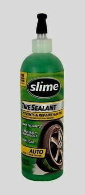 SLIME TIRE SEALANT 16 oz Prevents & Repairs Flat Tires Seals Instantly 10011 NEW