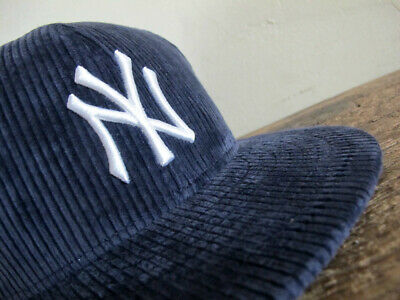 bcf3e8609ab Todd Snyder x New York Yankees New Era 59FIFTY Corduroy Fitted Cap sz 7 7
