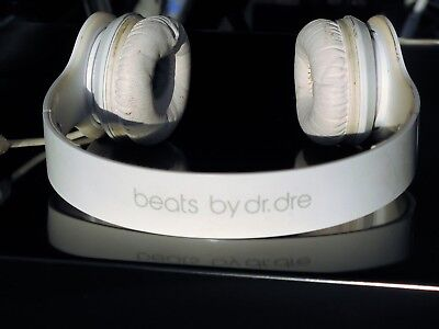 Beats by Dr. Dre Solo HD White Wired Headphones