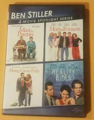 Meet The Parents/meet The Fockers/along Came Polly/reality Bites Dvd In Vgc