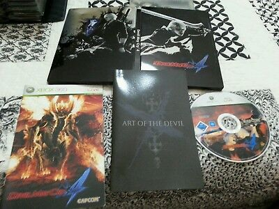 Devil may cry 4 collector's edition xbox 360 ITALIANO