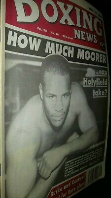 Apr 22Nd  1994  Boxing News Michael Moorer V Holyfield Preview/Frankie Foster
