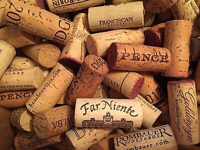 Premium Recycled Corks, Natural Wine Corks From Around the US - 25 Count.