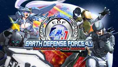 EARTH DEFENSE FORCE 4.1 THE SHADOW OF NEW DESPAIR + ALL DLC (STEAM codes for PC)