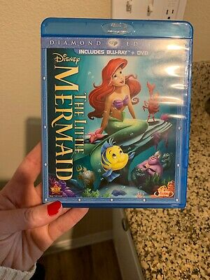 The Little Mermaid (Blu-ray/DVD, 2013, 2-Disc Set, Diamond Edition)