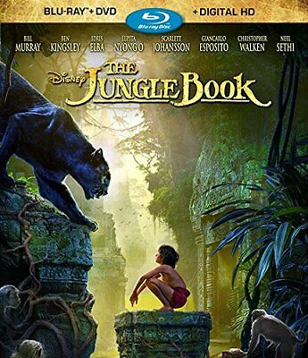 The Jungle Book ~ Blu-ray + DVD 2016 ~ Digital Code is in a sealed Package