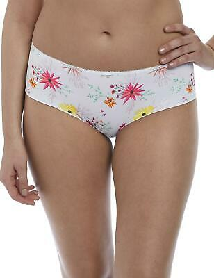 Freya Florri Short Brief Knickers 3106 White Floral Print Lingerie