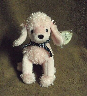 8c280682f1c 2000 Retired TY The Beanie Babies Collection BRIGITTE Poodle Dog Puppy Plush  Toy