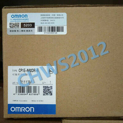 1 PCS NEW IN BOX OMRON CP1E-N60DR-A Programmable Controller