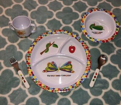 Eric Carle™ 5-Piece Melamine Dish Set The Very Hungry Caterpillar Gift