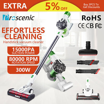 Proscenic P9 Cordless vacuum cleaner Handheld ultra light Stick 15KPa Vacuum Mop