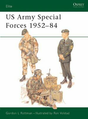 US Army Special Forces 1952-84 (Elite) by Rottman, Gordon L. Paperback Book The