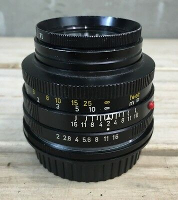 Leitz Werzlar Summicron-R 50mm 1:2 in  good condition #2367537 From Japan