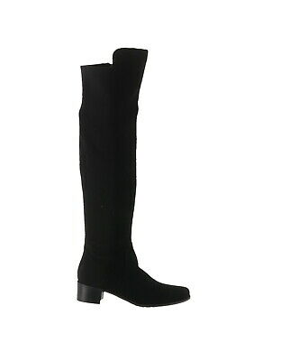 b75f90e8439 Marc Fisher Over the Knee Boots Idle Black Suede 9M NEW A281328