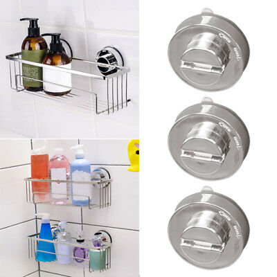 2X EXTRA HEAVY DUTY LEVER SUCTION CUP HOOKS Bathroom//Kitchen Holder super T3Q2