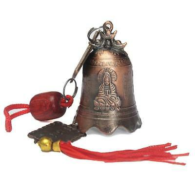 China Feng Shui Brass Bell Buddhist Goddess Temple Excellent Tibetan Buddhism