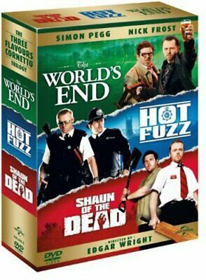 The World's End/Hot Fuzz/Shaun of the Dead [DVD] [2004] - DVD  Y0LN The Cheap