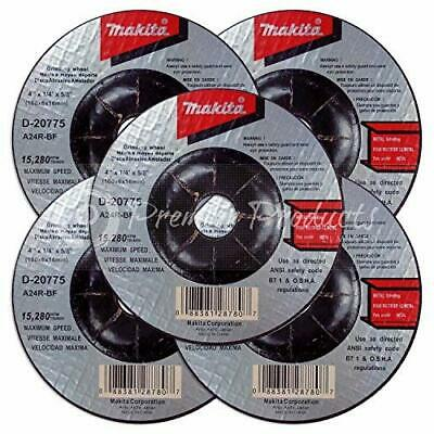 "Makita 5 Pack - 4 Inch Grinding Wheel For 4"" Grinders On Metal"