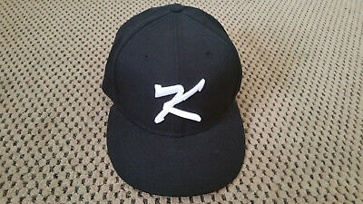 The North Face Korea team K Logo Hat Cap NE3CJ78 Black Grey Adjustable