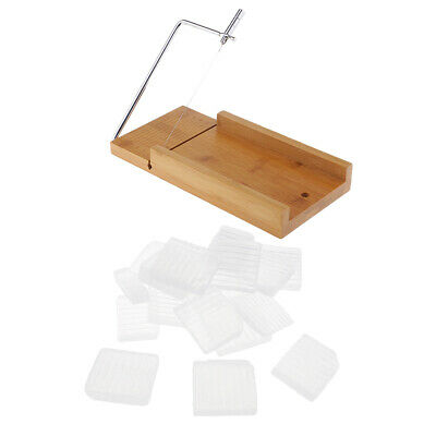 Soap Cutter Loaf Slicer Cutting Clear Melt and Pour Soap Base Soap Making