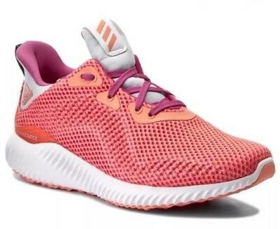 huge discount f2b6b 9192d Adidas Alphabounce J GirlsYouth Size 5.5Y Running Shoes PinkPeach
