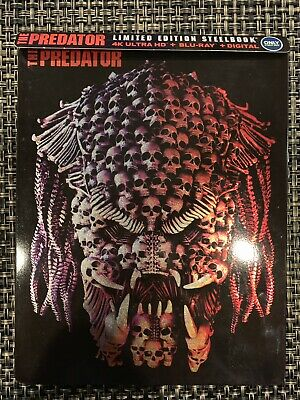 The Predator 2018 4K Blu Ray Best Buy Steelbook Exclusive