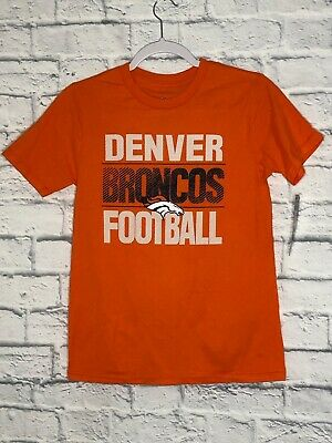 new product bac60 2fe4d NWT UNDER ARMOUR Denver Broncos kids Youth M shirt NFL Heat ...